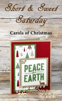Short & Sweet Saturday - Carols of Christmas