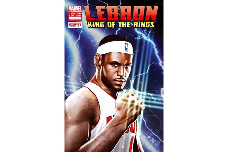 "ESPN & Marvel Present ""LeBron James: King Of The Rings"""