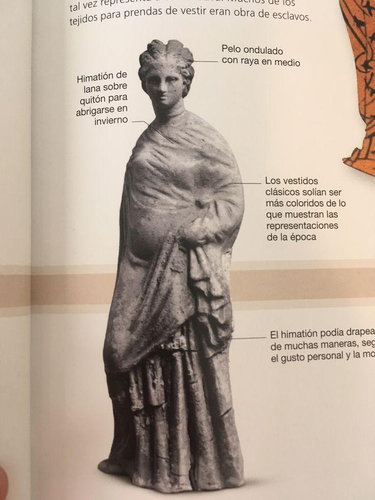 4. GRECIA: En la época arcaica el atuendo femenino era ajustado y estaba decorado con grecas y bandas geométricas, mientras que el hombre vestía túnicas de lana con pliegues con caída.  Durante el periodo clásico, el vesturario griego se componía de piezas muy simples, drapeadas para lograr un efecto sofisticado.
