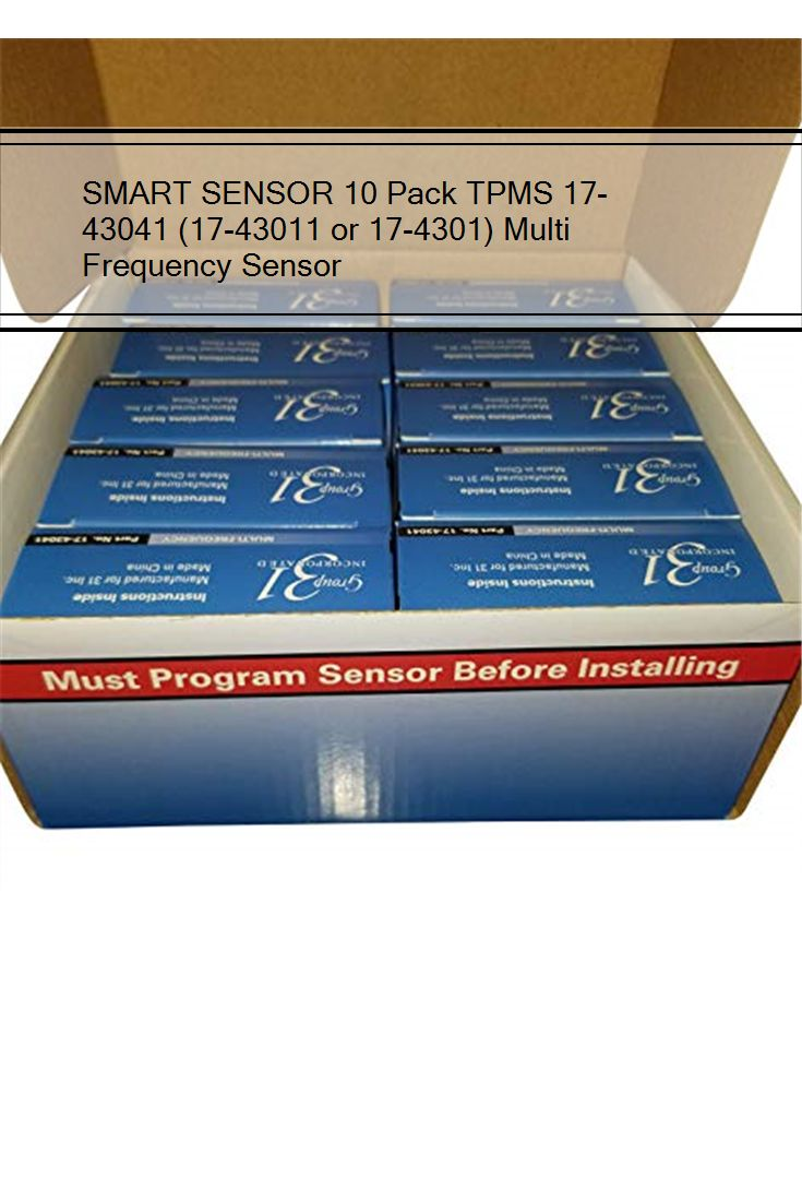 Multi Frequency Sensor 17-43011 or 17-4301 10 Pack TPMS Smart Sensor 17-43041