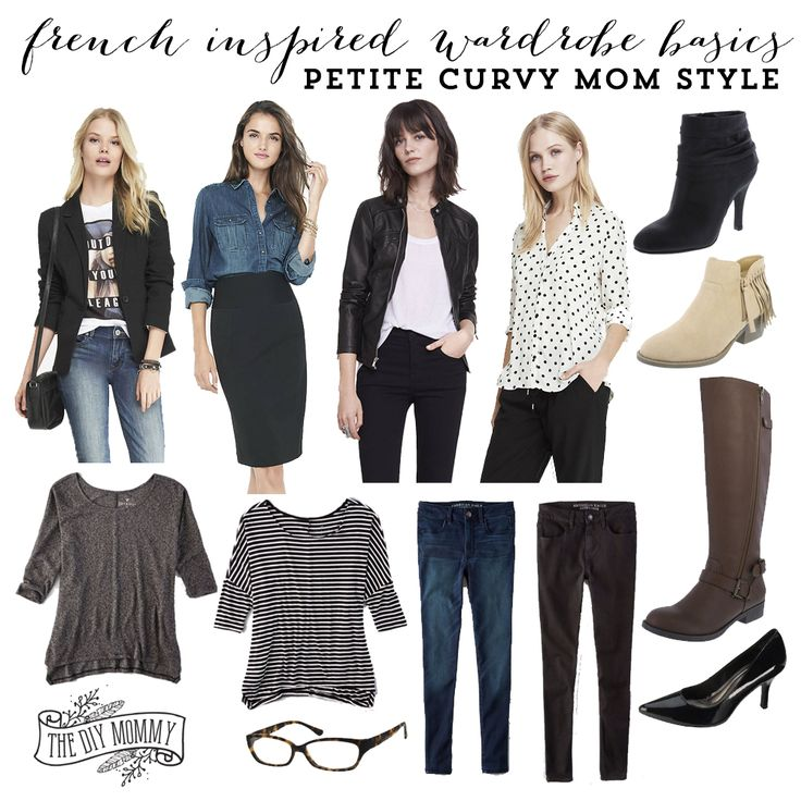 French Inspired Wardrobe Basics – Petite Curvy Mom Style | The DIY Mommy