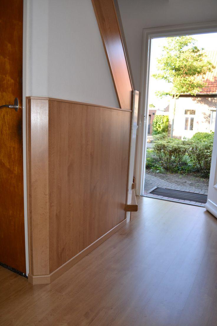 Ook uw vloer en zelfs uw wanden kunnen wij bekleden in hetzelfde decor als uw trap.