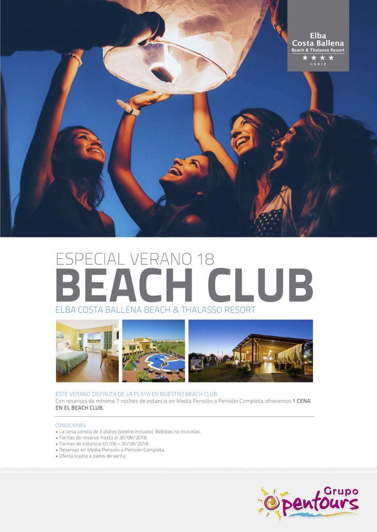 | GRUPO OPENTOURS | . Hotel Elba Costa Ballena **** (Rota, Cádiz, Andalucía, España) ---- Especial VERANO 2018 - 01 Junio al 30 Septiembre ---- Mínimo 7 noches, 1 cena free en el Beach Club. ---- Resto condiciones de esta oferta en www.opentours.es ---- Información y Reservas en tu - Agencia de Viajes Minorista - ---- #hotelelbacostaballena #elbacostaballena #costaballena #rota #cadiz #andalucia #VERANO2018  #escapadas #hoteles #vacaciones #estancias #ofertas #familias #niños…