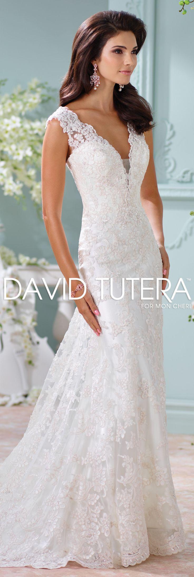 "The David Tutera for Mon Cheri Spring 2016 Wedding Gown Collection - ""Dayton""                                                                                                                                                                                 More"