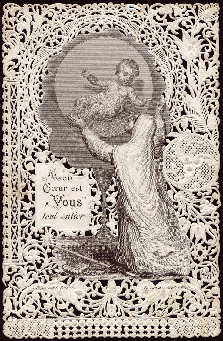 463 best Vintage PieX images on Pinterest   Prayer cards, Vintage ...