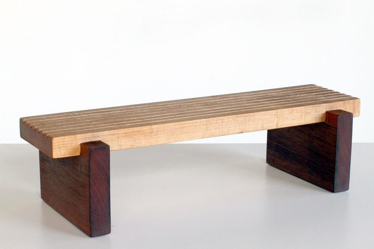 African Inspired Bench/Stool. $300.00, via Etsy.