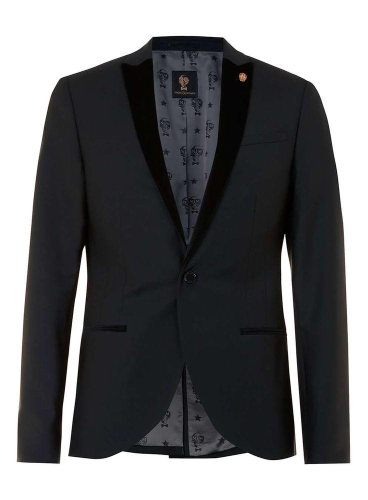 NOOSE & MONKEY Black Tuxedo Jacket
