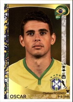 Oscar of Brazil. 2015 Copa America card.