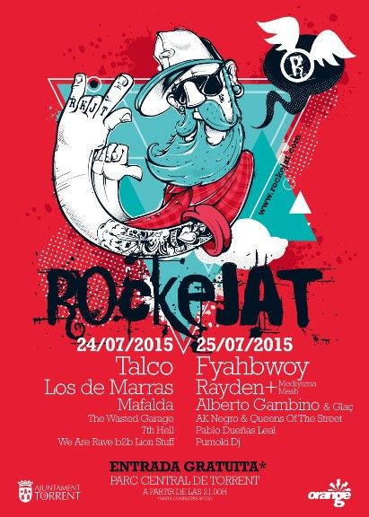 Festival de música Rockejat 2015 - http://www.valenciablog.com/festival-de-musica-rockejat-2015/