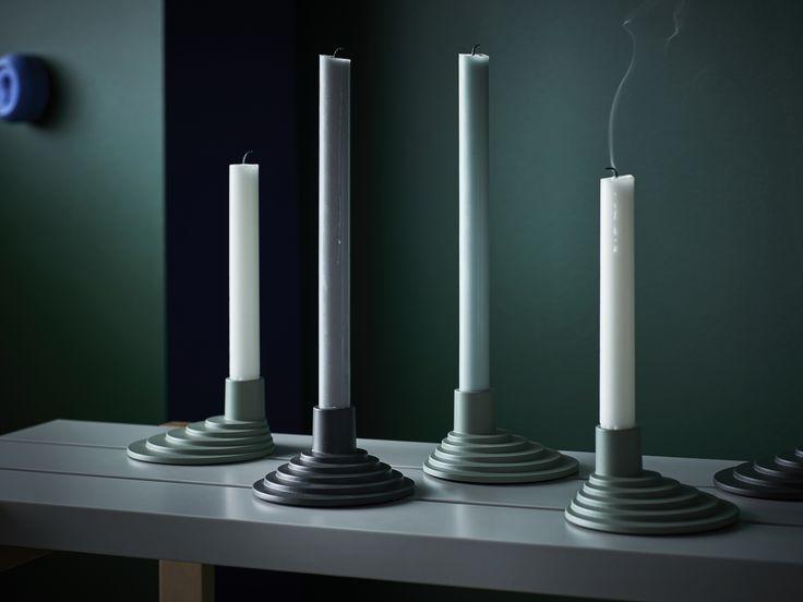Beautiful Die YPPERLIG Kerzenst nder gibt es in verschiedenen Farben Alle Produkte unserer neuen limitierten Kollektion findest