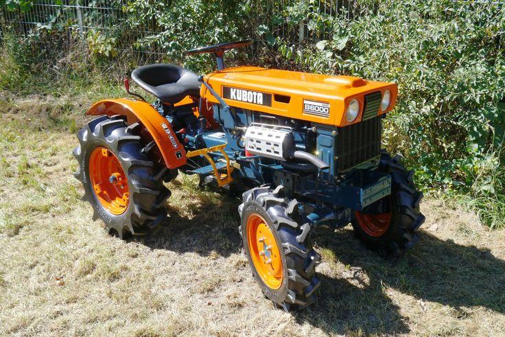 Kubota B6000, Kleintraktor,Schmalspurschlepper,Traktor | eBay