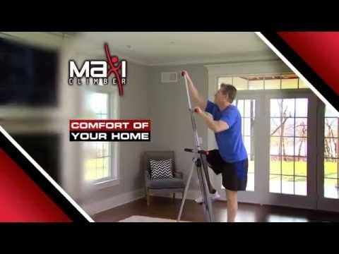 The Best Exercise Machine‎ - Maxi Climber Vertical Climber AS SEEN ON TV - YouTube