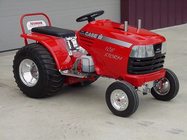 Tractor Pulling Motorcycle : Best images about ingersoll case garden tractors on