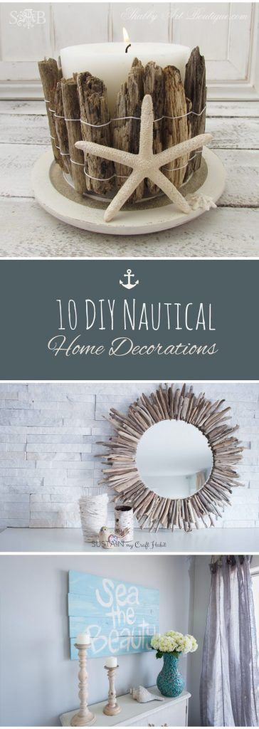 10 diy nautical home decorations ideas
