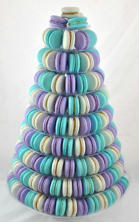 Macaron Tower yum!! delicious, and an endless array of color combo and flavor possibilities. :)