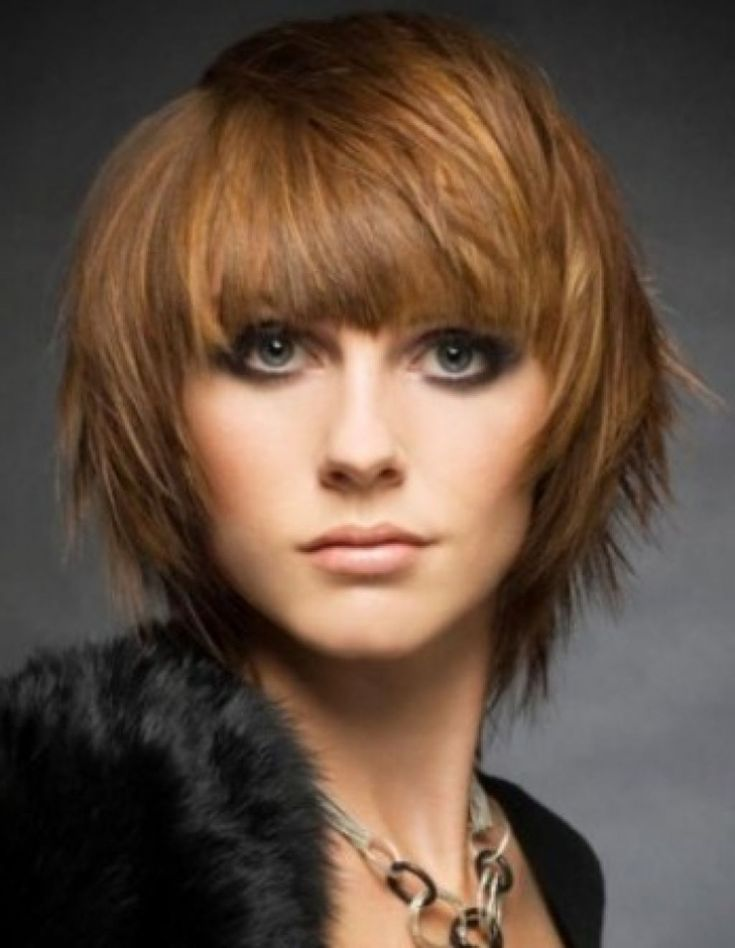 choppy haircuts with bangs 1000 ideas about bobs with bangs on bob 5586