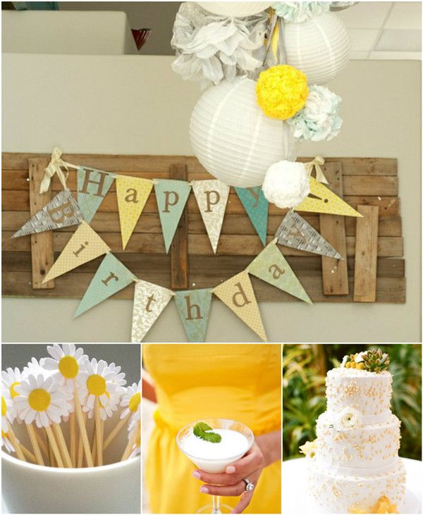 The 28 best images about Party Ideas! on Pinterest  ~ 214418_Birthday Party Ideas Yellow