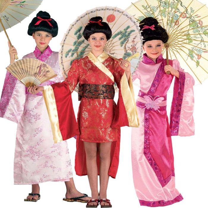 αποκριάτικες στολές για κορίτσια - στολές γκέισα