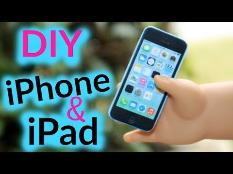Doll iPhone & iPad | DIY American Girl Doll Crafts - Baby Doll Zone