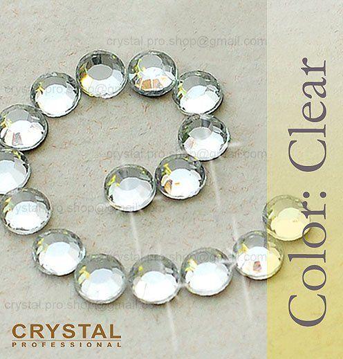 14400 pcs ss20 Crystal Clear 5mm wholesale bulk 100 gr. 20ss glass hot fix iron on Loose beads stone FLATBACK hotfix rhinestones-in Beads fr...