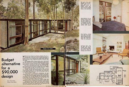Lehmann residence - Pymble, NSW - 1968 (Architect: Robert Murray)
