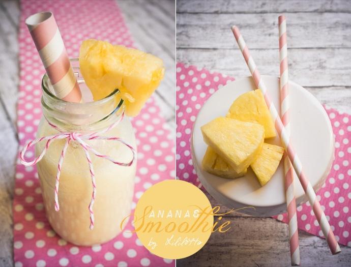 Ananas-Smoothie!