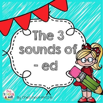 Help your students master the three sounds of 'ed' with this fun freebie…