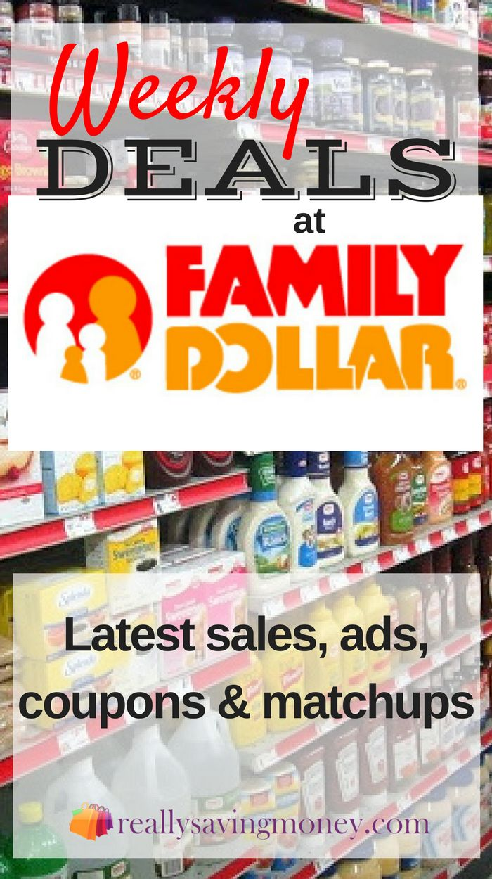 Best deals at Family Dollar | grocery coupons | coupon match ups | couponing | coupon database | extreme couponing | save money | saving | frugal living | shopping | sales | store flyers | Family Dollar weekly deals | sales flyer | clipping coupons | prin
