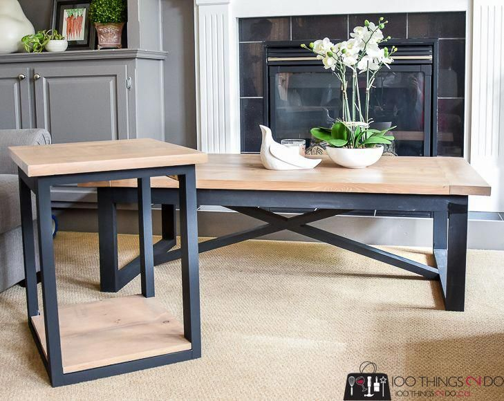 Rustic Industrial Coffee Table Coffee Table Plans Simple Coffee