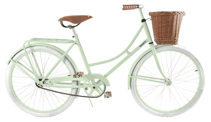 Modelo Florenza en color verde oliva con canasto.