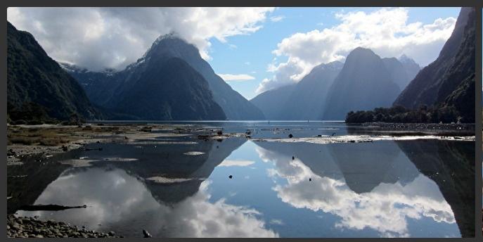 Mildford Sound NZ.
