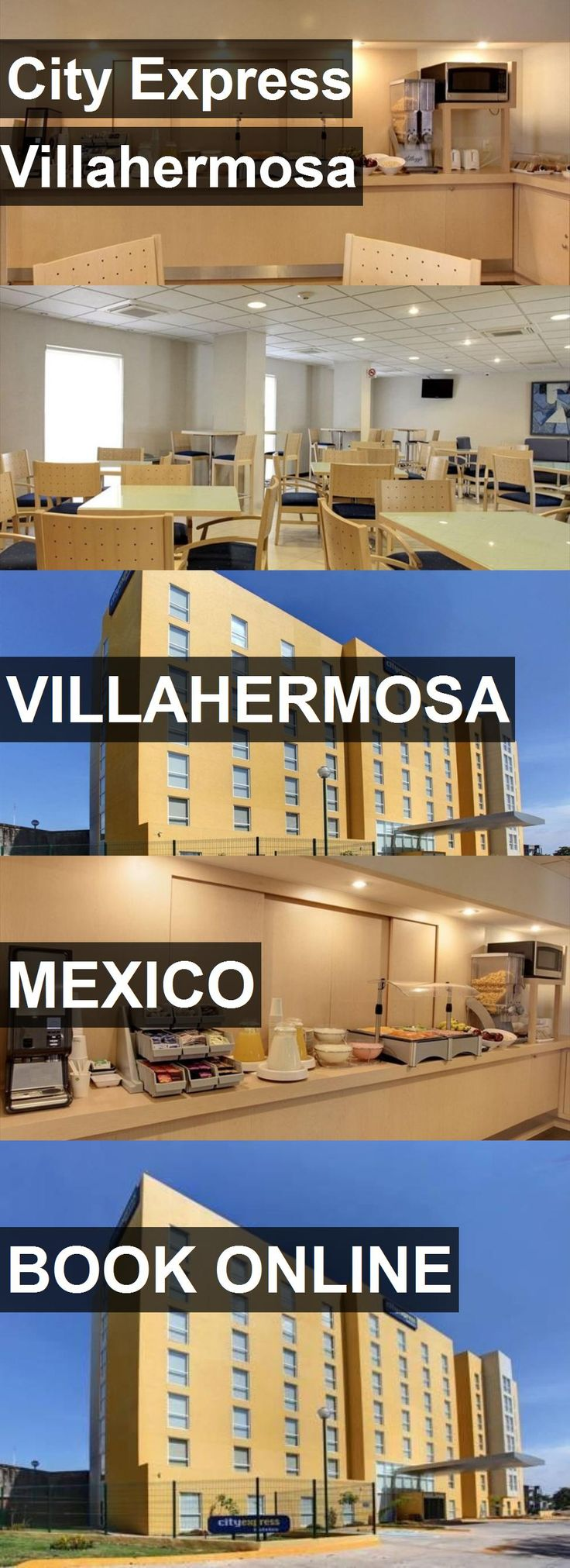 Hotel City Express Villahermosa in Villahermosa, Mexico. For more information, photos, reviews and best prices please follow the link. #Mexico #Villahermosa #travel #vacation #hotel