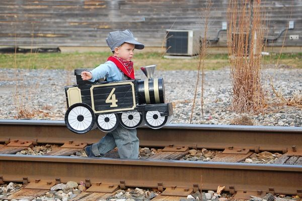 halloween train costume ideas for kids - Google Search