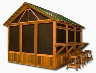 gazebo for hot tub habitat arctic spas north america outdoor living pinterest america. Black Bedroom Furniture Sets. Home Design Ideas