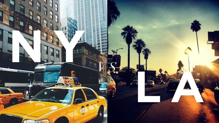 Joshua Van Dyk loves LA! Major Difference Living in New York Vs Los Angeles