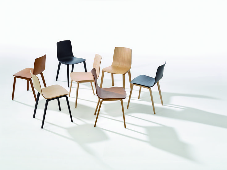 ARPER AAVA WOOD LEGS   Aava Is The Line Of Chairs Designed In 2013 By Antti
