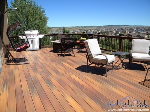 Fiberon composite decking in horizon ipe built by colorado for Fiberon ipe decking prices