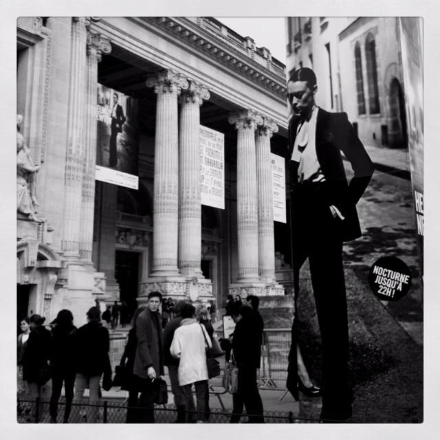 Great expo from Helmut Newton in Grand Palais in Paris!