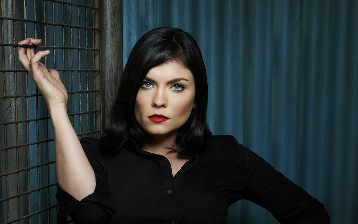 Download imagens Jodi Lyn O'Keefe, A atriz norte-americana, maquiagem para morenas, mulher bonita, retrato