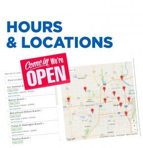 See OPL branch library hours and locations. Find by address, ZIP code or see list of open branches.  View map of all 12 library locations.
