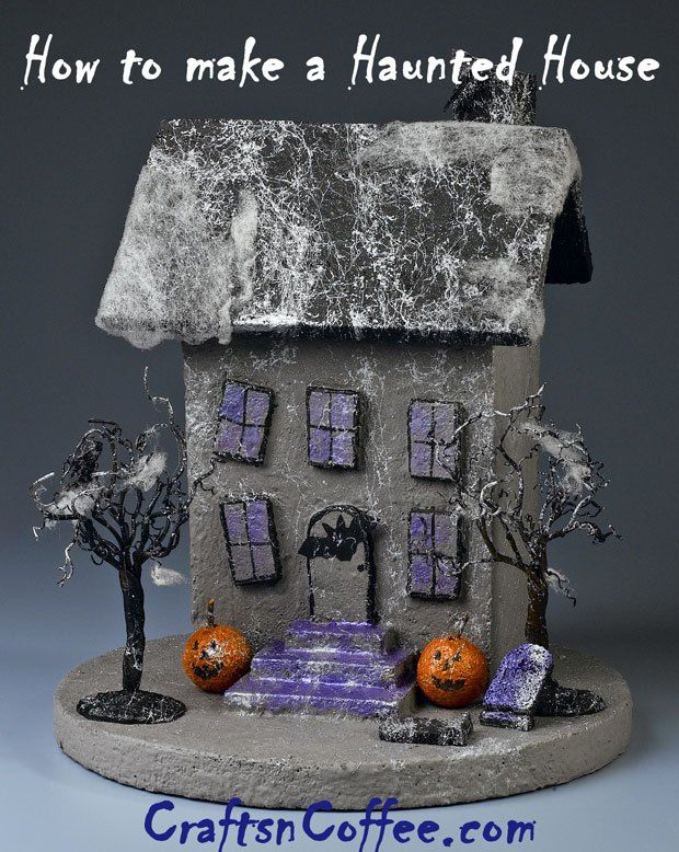 design your own haunted house. Halloween fun  make your own Tabletop Haunted House There are so many ways 136 best and haunted paper models images on Pinterest