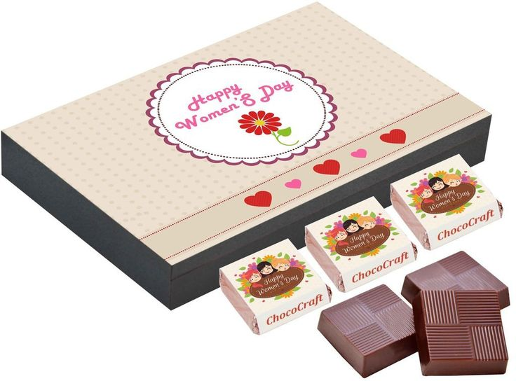 International women's day gifts   Chocolate gifts online