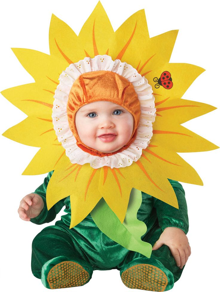 Sun Flower Costume Spring Summer Baby Clothes