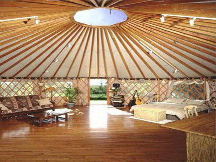 Interior unique yurt 800 600 glamping for Yurt interior designs