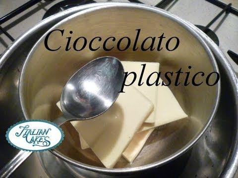 ▶ Ricetta cioccolato plastico (Plastic chocolate recipe) by ItalianCakes - YouTube