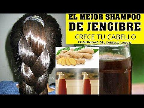 PONGA JENGIBRE A SU SHAMPOO Y VEAN LO QUE PASA EN MENOS DE 5 MINUTOS! - YouTube