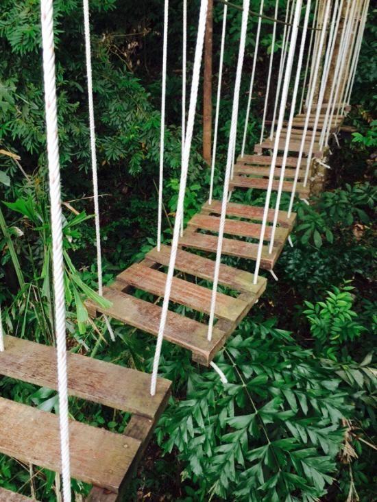 Tree Top Adventure Park (ziplining, climbs, walks) - Ko Chang, Thailand @darleytravel