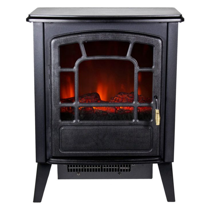 Frigidaire Bern Retro-Style Floor Standing Electric Fireplace - RSF-10324