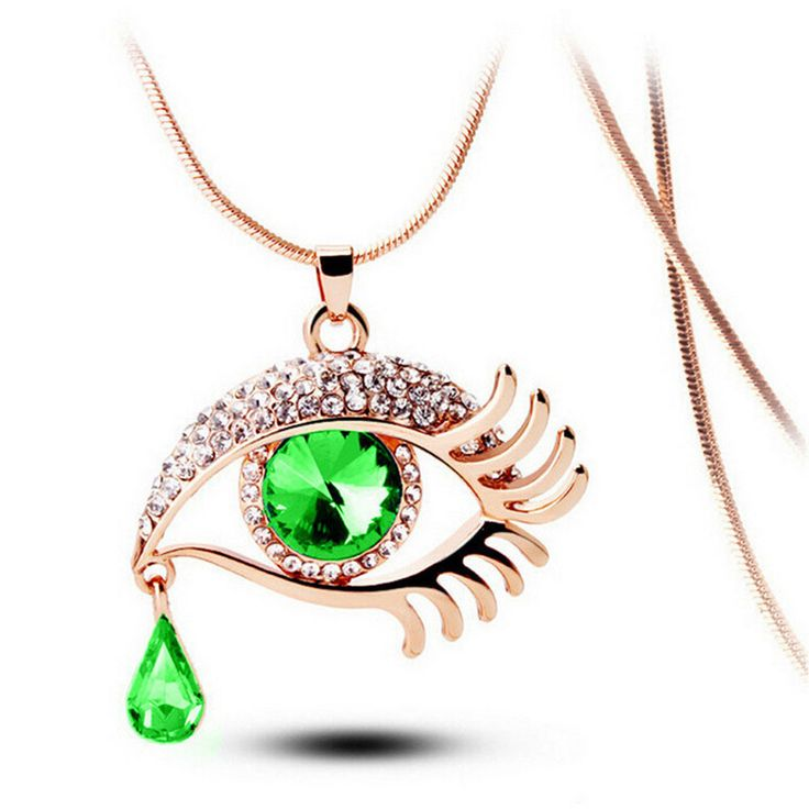 Tear Drop Necklace в 2019 г. | Бижутерия | Teardrop necklace ...