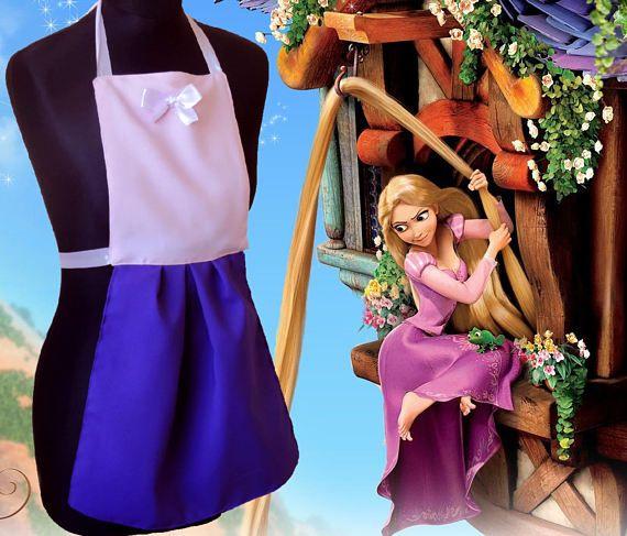 Grembiule Disney per bambini Raperonzolo Rapunzel Children